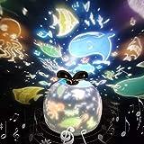 Lámpara Proyector Estrellas 360° Rotación Músic...