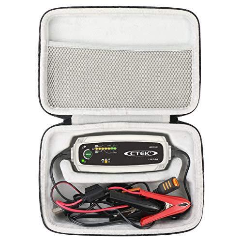 Khanka Eva Custodia Viaggi Borsa portaoggetti per CTEK XS 0.8 Mantenitore di Carica Automatico (for MXS 3.8)