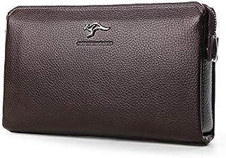 CARSONKANGAROO Bag For Men,Dark Brown - Baguette Bags