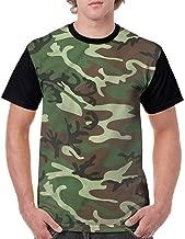 BlountDecor Cotton T-Shirt,Artistic Modern Design Fashion Personality Customization
