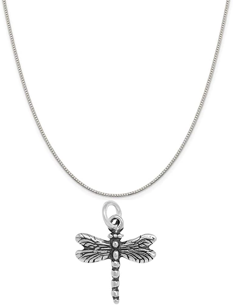 Ranking TOP8 Raposa Elegance Sterling Silver Recommendation 3D Necklac Dragonfly Charm Totem