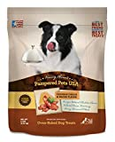 HEALTHY & NATURAL: Soft, oven-baked, homestyle dog treats made in the USA using the same natural, healthy and wholesome ingredients you would use for your family. Baked to perfection and FREE of BY-PRODUCTS, SUGAR, ARTIFICIAL FLAVORINGS and COLORS. N...
