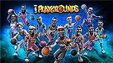 XHJY Videojuego NBA Playgrounds Rompecabezas De para Adultos, Niños, Adolescentes, Niñas Y Niños, Regalos De Cumpleaños Populares-1000 Piezas(75 x 50 cm)