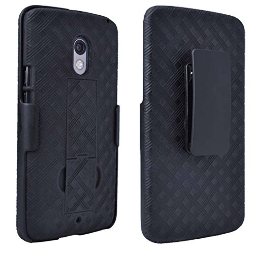 Rome Tech Holster Case with Belt Clip for Droid Maxx 2 / Moto X Play -...