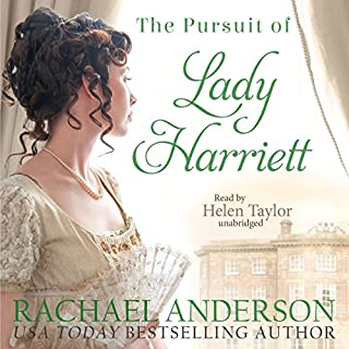 The Pursuit of Lady Harriett cover art