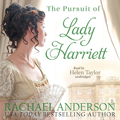 The Pursuit of Lady Harriett audiobook cover art