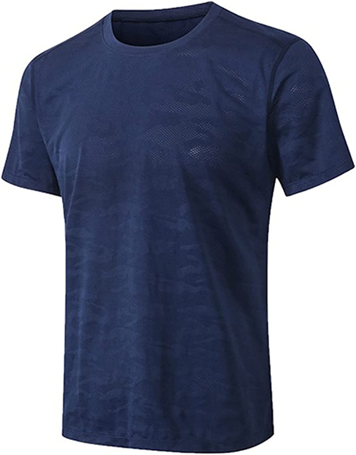 Men's Workout Athletic T-Shirts Quick Dry Lightweight Muscle Shirts Casual Workout Tee
