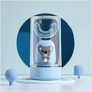Orale Reiniging Ultrasone kindertandenborstel elektrische 2 versnellingsmodus met 2 silica hoofden tandenborstel met IPX7 ...