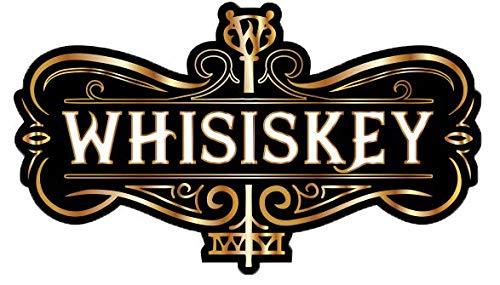 Whisiskey® Whiskey Karaffe - Globus - Whisky Karaffe Set - 900 ml - Geschenk für Männer und Frauen - Inkl. 9 Whisky-Steine und Schenktülle - 9