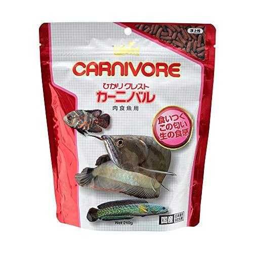 ヒカリ (Hikari) ひかりクレスト カーニバル 肉食魚用 210g