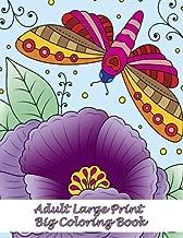 Adult Large Print Big Coloring Book (Premium Adult Coloring Books) (Volume 35)