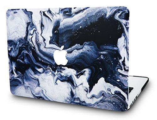 KECC MacBook Pro 13 Pulgadas Funda Dura Case Cover MacBook Pro 13.3 Ultra Delgado Pl/ástico {A1989//A1706//A1708} 2020//2019//2018//2017//2016, Touch Bar M/ármol Gris Oscuro