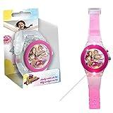 Kids Licensing - WD18086 - Soy Luna - Reloj analógico LED
