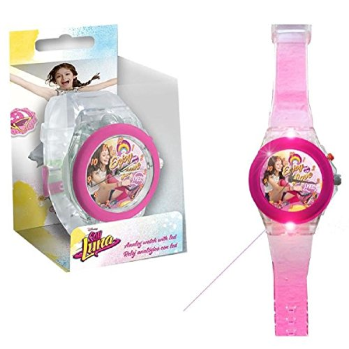 Kids Licensing – wd18086 – Soy Illustrated O Soy Luna – Zeigt Analog LED