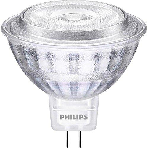 Philips Philips Faretto LED, Attacco GU5.3, 7 W Equivalenti a 50 W, 2700 K, GU5.3, 7 watts, Grigio, 5.05x4.8x4.8 cm