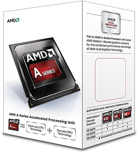 AMD A4 4020 Box Prozessor (3,2GHz, Sockel FM2, 1MB Cache, 65 Watt)