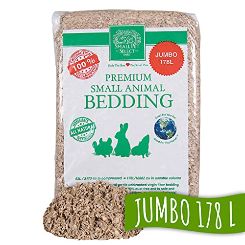 Small Pet Select Jumbo Natural Paper Bedding (178 L)