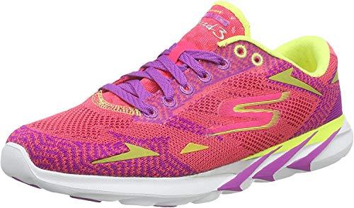Skechers Go MEB Speed 3 2016 - Scarpe da ginnastica da donna, Rosa (Colore: rosa lime.), 36.5 EU