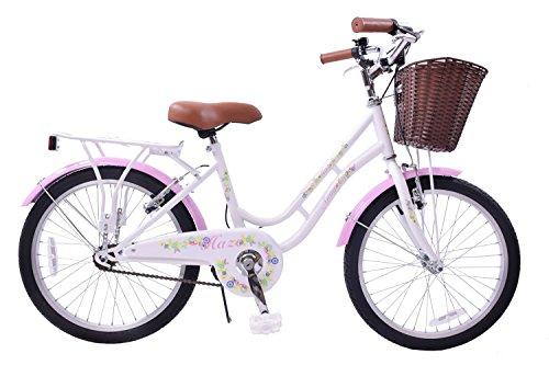 AMMACO HAZE TRADITIONAL 20' WHEEL GIRLS BIKE BASKET 13' FRAME CLASSIC DUTCH SHOPPER STYLE HERITAGE...