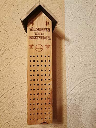 50cm hoch XXL Insektenhaus Winterquartier Bienen Wildbienen Nistkasten aus Holz Insektenhotel Handmade in Niederbayern