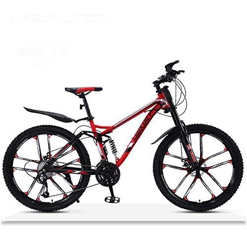 LJLYL Bicicleta de montaña, Bicicleta de montaña con Marco