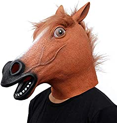 Horse Mask by CreepyParty