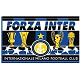 Giant Inter Mailand (Serie A) Wappenflagge, 100 % Polyester, 130 x 94 cm