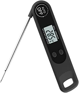 LOadSEcr Meat Thermometer, Instant Read Meat Thermometer, Electronic Digital Waterproof BBQ Meat Food Probe Thermometer Ho...