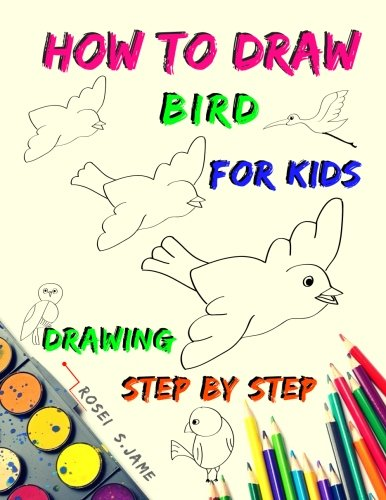 How to Draw Bird for Kids : Drawing step by step 24 birds: How to draw animals , drawing for beginners kids , drawing birds for beginers