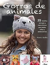 Gorros de animales: 35 diseños salvajes y maravillosos para bebés, niños y adolescentes (Spanish Edition)