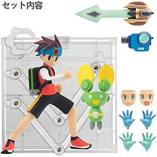Sentinel Mega Man Battle Network Lan Hikari PVC Figure Upgrade Parts Set