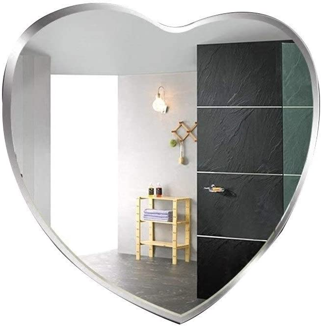 WXF Bedroom Hanging Wall Mirror Frameless Mounted M Superior Modern shop
