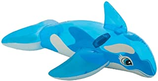 Intex Lil Whale Ride-on Floating Raft, Blue [58523]