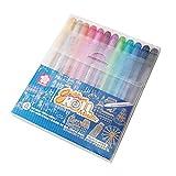 Sakura Gelly Roll Blister Card Assorted Colors Metallic Gel Ink 12 Pen,Pigma PN Plastic Nip 3 Pens