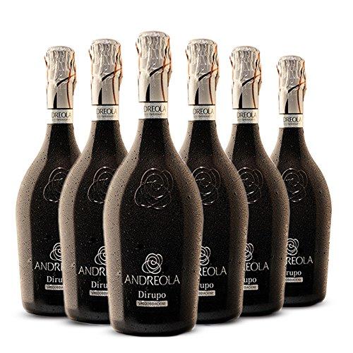 Valdobbiadene Prosecco Superiore DOCG Dirupo Brut - 6 bottiglie 75 cl - Andreola