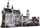 CLEVER PAPER- Puzzles 3D Castillo de Neuschwanstein, Alemania (14157)