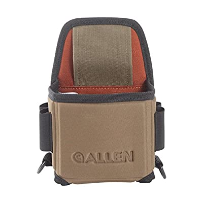 Allen Eliminator Single Box Shotgun Shell Carrier with Molded Frame, Sporting Clay or Trap Shooting Shotgun Shell Carrier