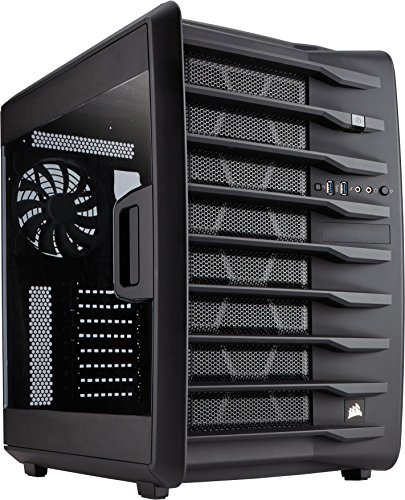 Corsair Carbide Air 740 Case da Gaming, Cube Atx, Finestra Laterale, Nero