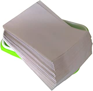 """Yamix 150Pcs Seed Sprouter Vegetable Planting Paper Germinating Paper, Use for Plant Germination Tray (Tray Size:13.39""""x9.84"""")"""