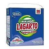 Lagarto Detergente En Polvo Para Lavadora - Oxígeno Activo - 35 Lavados - Paquete De 4 X 2660 Gr - Total: 140 lavados. 1 Conjunto, 4 Unidades