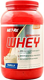 MET-Rx Ultramyosyn Whey, Vanilla, 2 Pounds