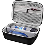 Storage & Protective Case Compatible with Dremel 7300-PT 4.8V Cordless Rotary Tool Dog Nail Grinder, Pet Nail Grooming Trimmer Bag Box with Accessories Mesh Pocket.(Case Only