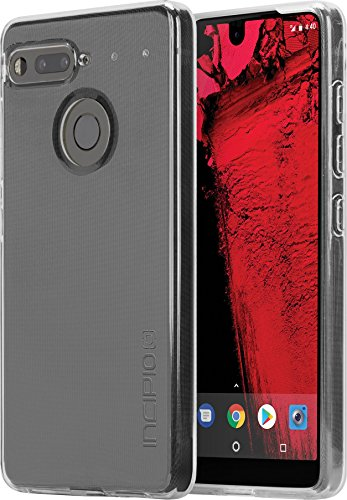 Essential Phone Case, Incipio Essential PH-1 Case NGP Pure Shockproof Ultra Thin Slim Clear TPU Polymer Shock-Absorbing Cover - Clear