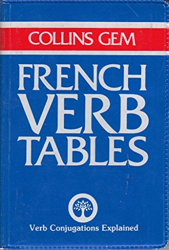Collins Gem French Verb Tables (Collins Gems)
