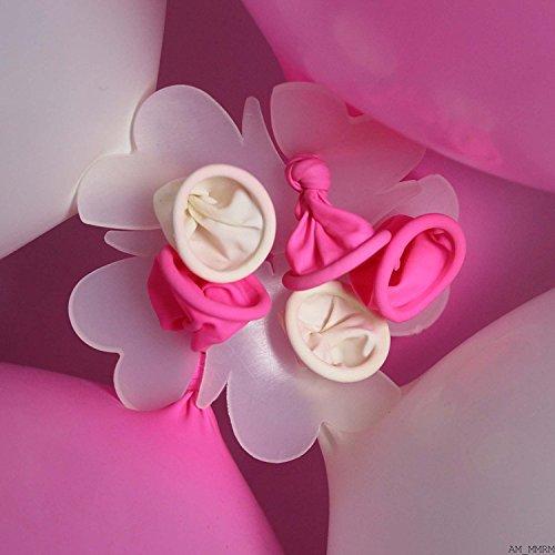 HUAYANG 5 en 1 Ballon Clip pour Ballon de Décoration Hélium Fête Anniversaire Mariage