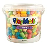 PlayMais BÁSICO 500 Mosaicos para niños, Multicolor (11819)