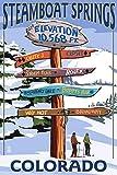 KODY HYDE Metall Poster - Steamboat Springs Colorado -