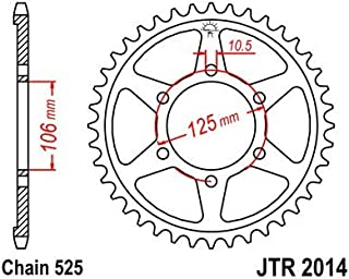 JTR269.39 Compatible avec 125 ZING//QUANNON//HIPSTER//PULSAR//STRYKER COURONNE 39 DENTS