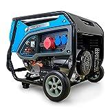 DeTec. DT-6500E-3 Benzin Generator   Stromerzeuger mit 6 kW 230 V   Notstromaggregat für (Not-) Stromversorgung   Starkstrom