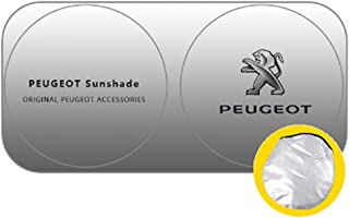 YEE PIN Peugeot 3008 2016 2017 2018 2019 2020 Pare-Soleil de Voiture pour Pare-Brise Protection UV Housse de Pare-Brise Pare-Soleil